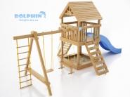Деревянные детские комплексы