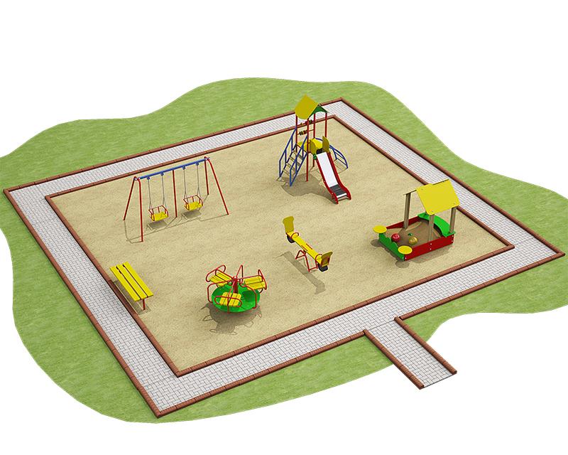 Детская площадка проект своими руками 20